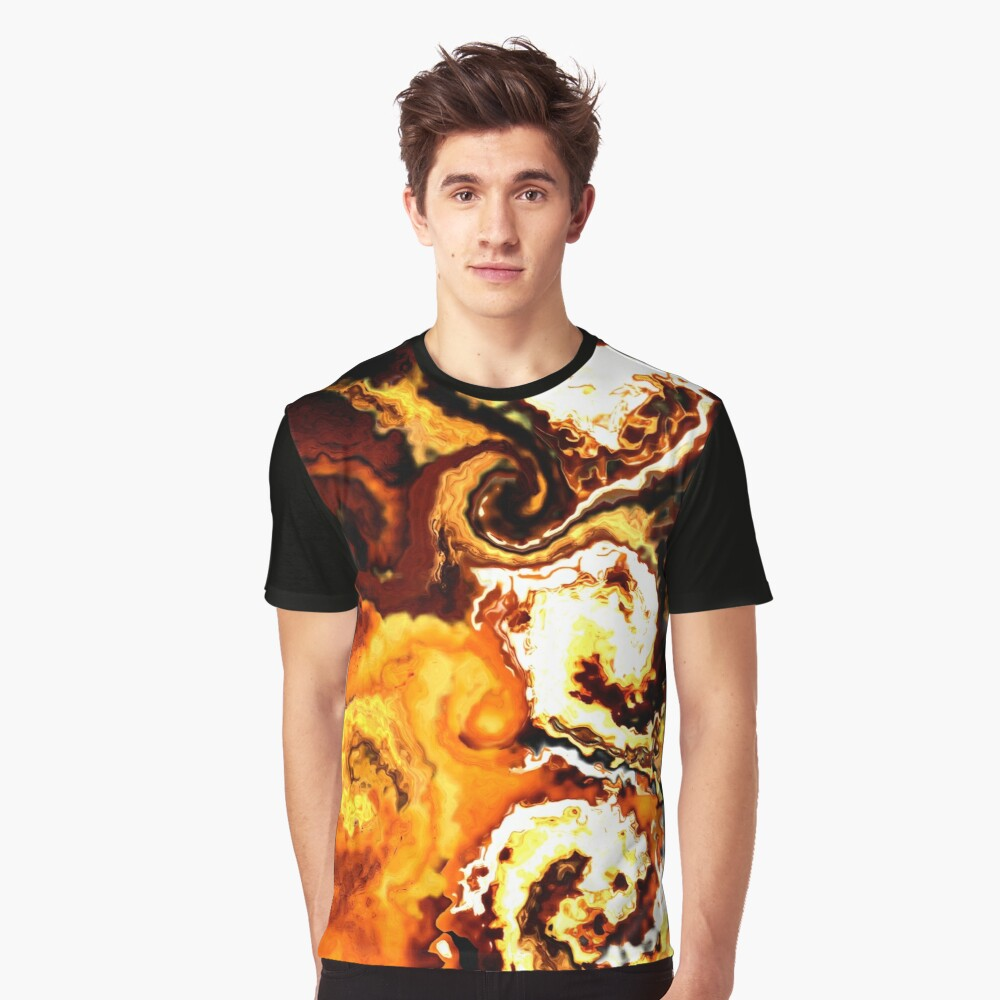 Flame Out Graphic T-Shirt Front