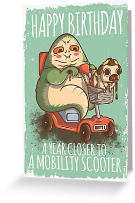 A Year Closer to owning a Mobility Scooter by Scott Weston