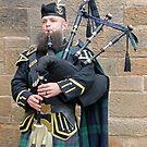 Scottish Piper - The Royal Mile - Edinburgh by Colin  Williams Photography