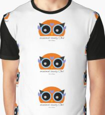 Minimal Sweety Owl Graphic T-Shirt