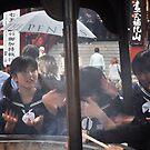 Autumn in Japan:  Smoke Cleansing by Jen Waltmon