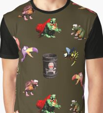 Donkey Kong Country - Bosses Graphic T-Shirt
