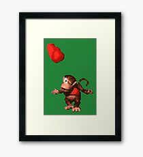 Donkey Kong Country  - Wink Framed Print