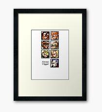 Heroes in Time Framed Print