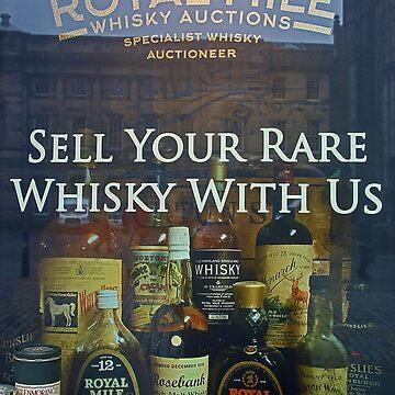 Scottish Whisky - The Royal Mile - Edinburgh by Arrowman