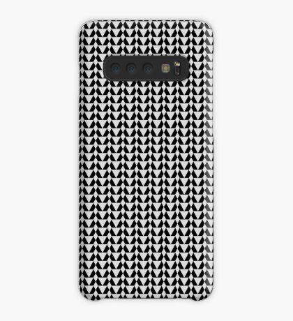 220 Greyscale & Black Pattern  Case/Skin for Samsung Galaxy