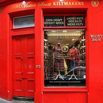 Kiltmakers - Edinburgh by Arrowman