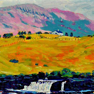 Aasleagh Falls, Mayo, Ireland by eolai