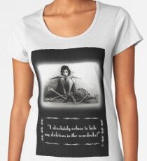 Silent Movie subtitles no8 Women's Premium T-Shirt