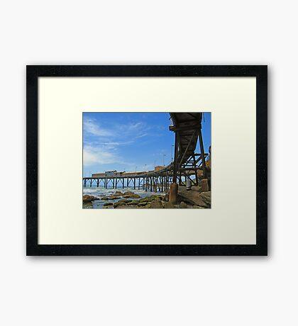 Catho Hill Bay Pier Framed Print
