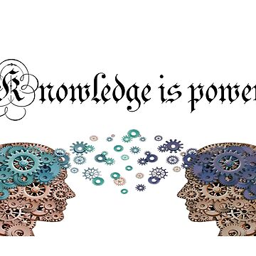Knowledge is power by Ivelin