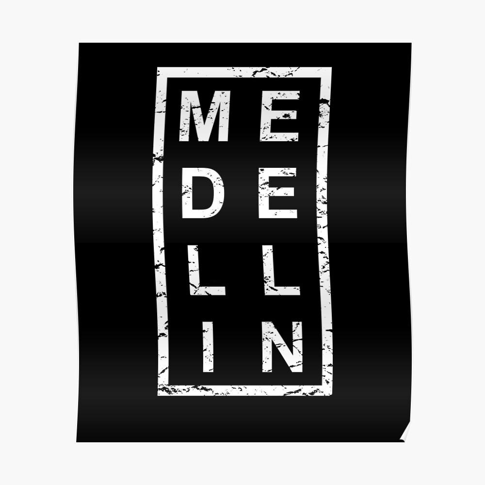 Stylish Medellin Poster