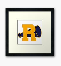 R and Vixens Framed Print