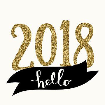 Hello 2018 by Ivaleksa