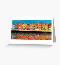 Ormond Quay Lower, Dublin, Ireland (2016) Greeting Card
