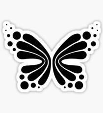 Graphic Butterfly B&W - Shee Vector Shape Sticker