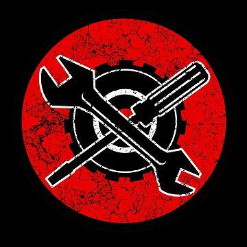 Mechanic Logo by Delta12Designs
