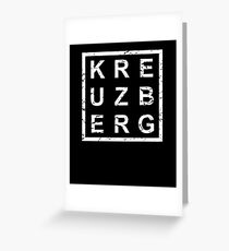 Stylish Kreuzberg Greeting Card