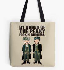 Peaky Blinders , Thomas and Arthur Tote Bag