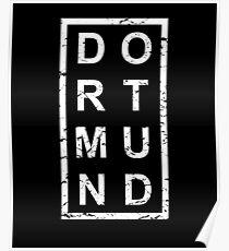 Stylish Dortmund Poster