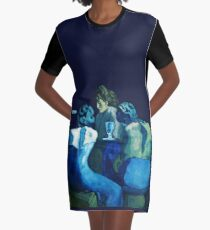 Picasso Blue Period Graphic T-Shirt Dress