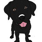 Big Black Lab  by rmcbuckeye
