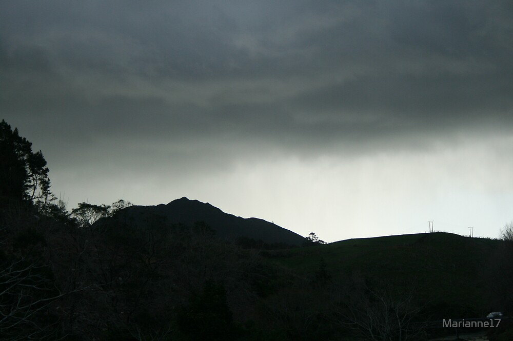 New Zealand thunderstorm by Marianne17