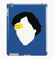 Sherlock Holmes, The Sign Of Three 2.0 iPad Case/Skin