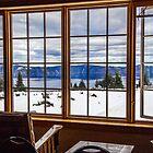 USA. Oregon. Crater Lake National Park. Thru the Window. by vadim19