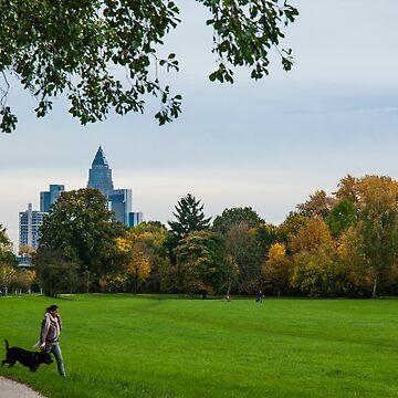 Frankfurt Niddapark  by marychaco