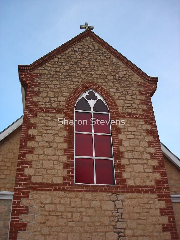 Church Window by Sharon Stevens
