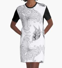 Butterfly set - white Graphic T-Shirt Dress