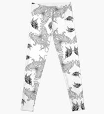 Butterfly set - white Leggings