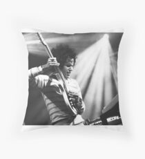 Omar Rodriguez Lopez / Mars Volta Throw Pillow