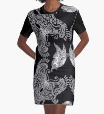 Butterfly set - black Graphic T-Shirt Dress
