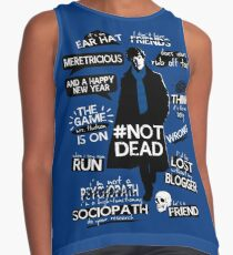 Sherlock quotes Contrast Tank