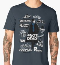Sherlock quotes Men's Premium T-Shirt