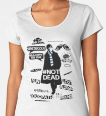 Sherlock quotes Women's Premium T-Shirt