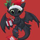 Weihnachtsdrache von dooomcat