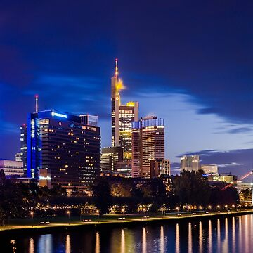 Frankfurt Skyline by marychaco