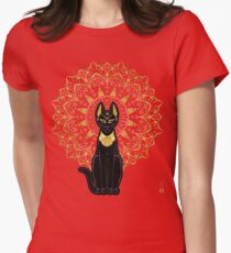 Bastet Women's Fitted T-Shirt