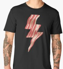 POWERED BY BACON Men's Premium T-Shirt