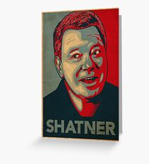 SHATNER Greeting Card