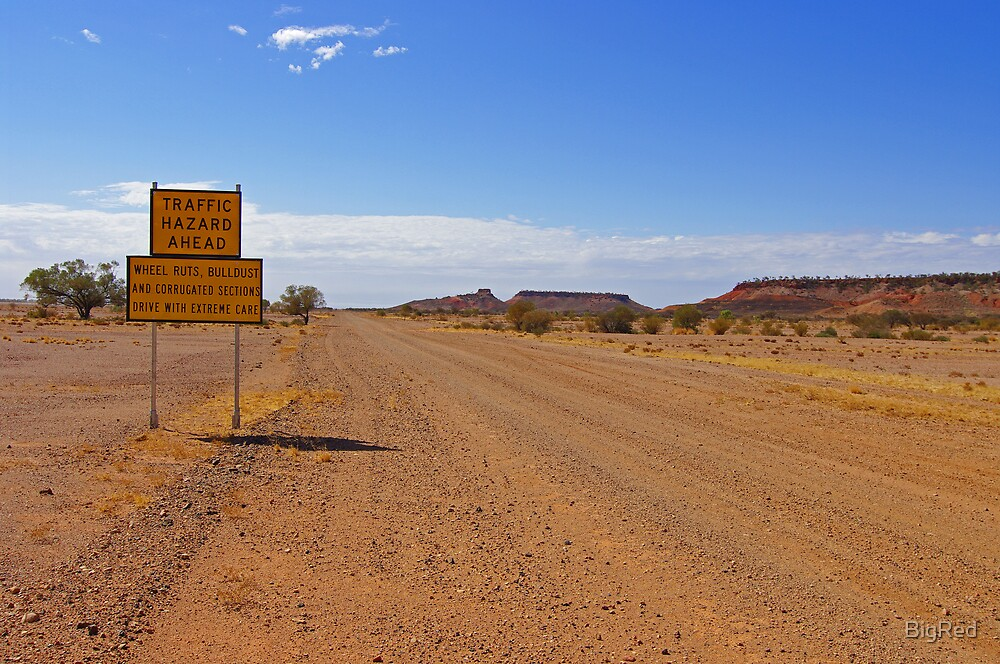 Outback Road by BigRed