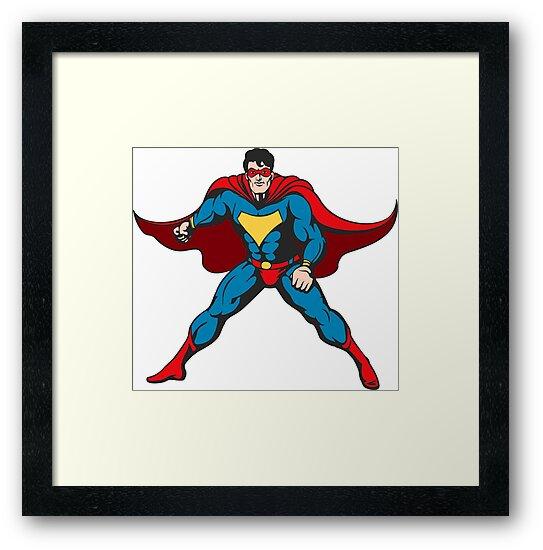 Cartoon Superhero by devaleta