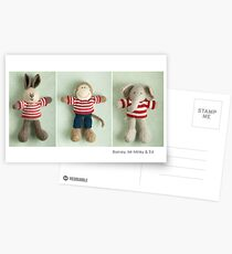 stripey boys Postcards