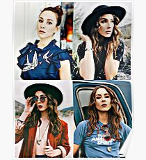 Troian Bellisario Collage Poster