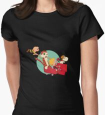 Calvin and Charlie Women's Fitted T-Shirt