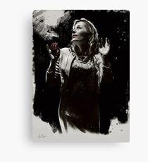 """Blanche Dubois n°6 """"chiaroscuro"""" Canvas Print"""