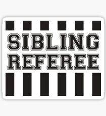Sibling Referee Sticker